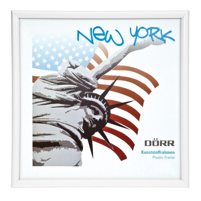 Dörr NewYork Rahmen Square 13x13 cm weiß, Bildkunst Käppler